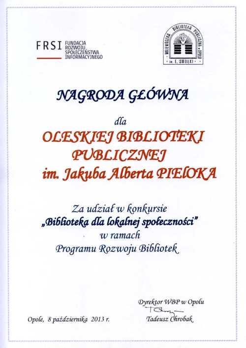 Nagroda dla OBP