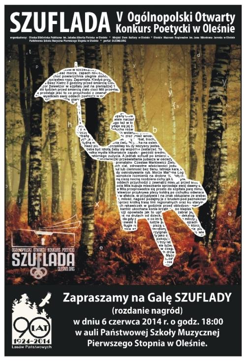 Finałowa Gala Szuflady - 6 czerwca, godz. 18.00, aula PSM