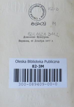 Ślady cenzury na książkach
